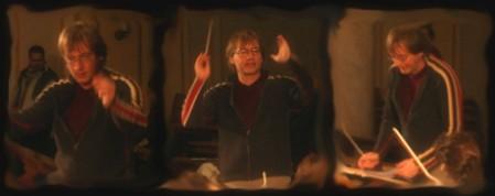 Chorleiter Markus Karch bei der Probe