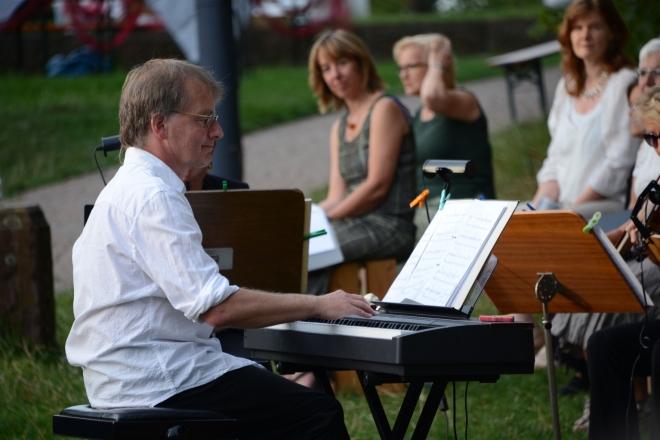 Markus am Piano
