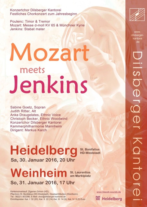 Plakat Mozart meets Jenkins